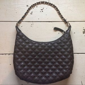 The SAK quilted leather hobo